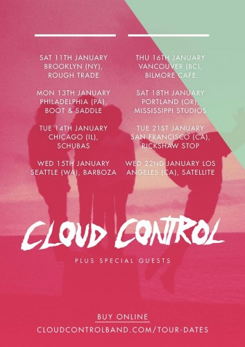 Cloud Control North America Tour